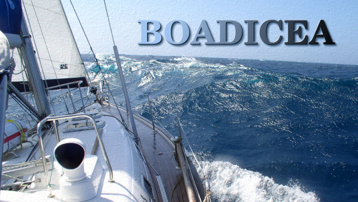 Elena and Meg's boat, Boadicea