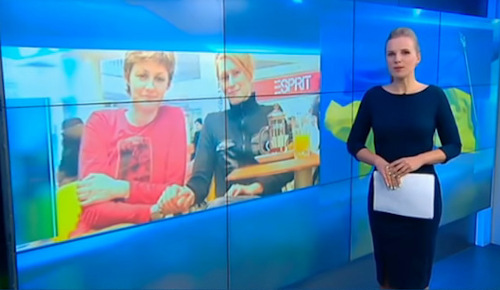 Елена и Мег на Россия 24